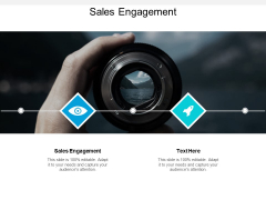 Sales Engagement Ppt PowerPoint Presentation Outline Rules Cpb