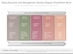Sales Execution And Management Sample Diagram Powerpoint Show