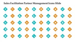 Sales Facilitation Partner Management Icons Slide Clipart PDF