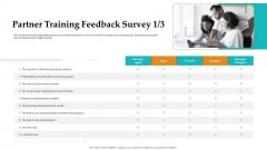 Sales Facilitation Partner Management Partner Training Feedback Survey Content Background PDF