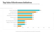 Sales Facilitation Partner Management Top Sales Effectiveness Initiatives Demonstration PDF