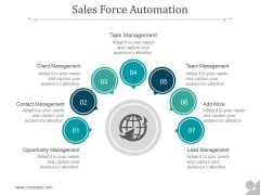 Sales Force Automation Ppt PowerPoint Presentation Layouts