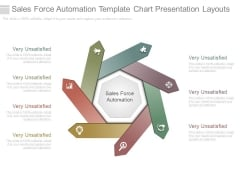 Sales Force Automation Template Chart Presentation Layouts