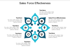 Sales Force Effectiveness Ppt PowerPoint Presentation Layouts Deck Cpb