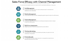 Sales Force Efficacy With Channel Management Ppt PowerPoint Presentation Gallery Objects PDF
