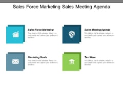 Sales Force Marketing Sales Meeting Agenda Marketing Goals Ppt PowerPoint Presentation Layouts Inspiration