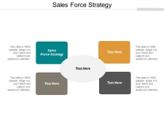 Sales Force Strategy Ppt PowerPoint Presentation Show Background Cpb