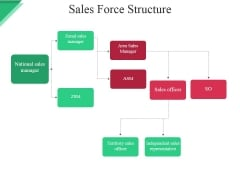 Sales Force Structure Ppt PowerPoint Presentation Inspiration Outline