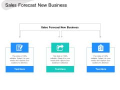 Sales Forecast New Business Ppt PowerPoint Presentation Portfolio Themes Cpb