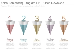 Sales Forecasting Diagram Ppt Slides Download