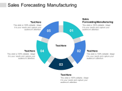 Sales Forecasting Manufacturing Ppt PowerPoint Presentation Layouts Themes Cpb