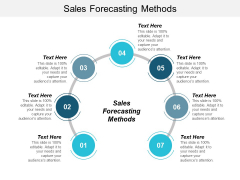 Sales Forecasting Methods Ppt PowerPoint Presentation Styles Background