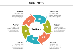 Sales Forms Ppt Powerpoint Presentation Gallery Graphics Design Cpb