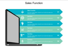 Sales Function Ppt PowerPoint Presentation Model Slides Cpb