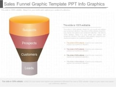Sales Funnel Graphic Template Ppt Info Graphics