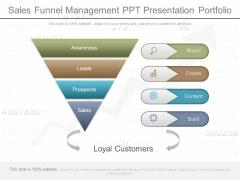 Sales Funnel Management Ppt Presentation Portfolio