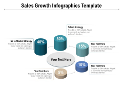 Sales Growth Infographics Template Ppt PowerPoint Presentation Inspiration Graphics Pictures PDF