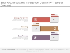 Sales Growth Solutions Management Diagram Ppt Samples Download
