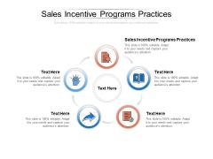 Sales Incentive Programs Practices Ppt PowerPoint Presentation Portfolio Designs Download Cpb