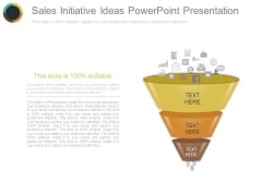 Sales Initiative Ideas Powerpoint Presentation