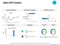 Sales KPI Tracker Ppt PowerPoint Presentation Outline Tips