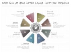 Sales Kick Off Ideas Sample Layout Powerpoint Templates