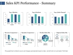 Sales Kpi Performance Summary Ppt PowerPoint Presentation Infographic Template Infographics
