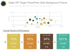Sales Kpi Target Powerpoint Slide Background Picture