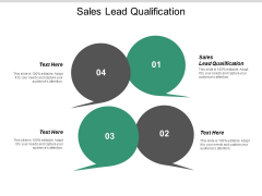 Sales Lead Qualification Ppt PowerPoint Presentation Model Icon Cpb