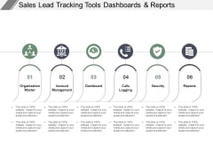 Sales Lead Tracking Tools Dashboards And Reports Ppt PowerPoint Presentation Model Format