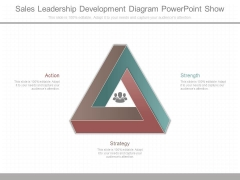 Sales Leadership Development Diagram Powerpoint Show