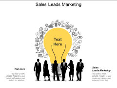 Sales Leads Marketing Ppt Powerpoint Presentation Gallery Good