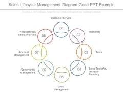 Sales Lifecycle Management Diagram Good Ppt Example