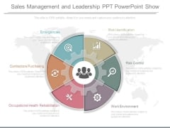 Sales Management And Leadership Ppt Powerpoint Show