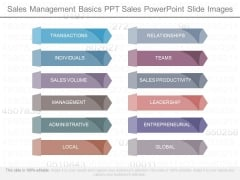 Sales Management Basics Ppt Sales Powerpoint Slide Images