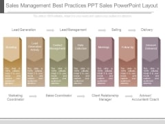 Sales Management Best Practices Ppt Sales Powerpoint Layout