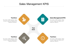 Sales Management KPIS Ppt PowerPoint Presentation Model Visuals Cpb