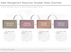 Sales Management Resources Template Slides Download