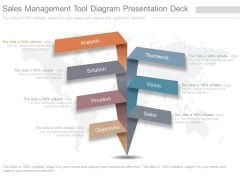 Sales Management Tool Diagram Presentation Deck