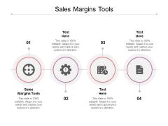 Sales Margins Tools Ppt PowerPoint Presentation Slides Portrait Cpb