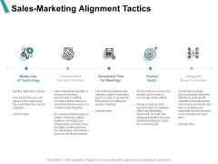 Sales Marketing Alignment Tactics Calender Ppt PowerPoint Presentation Ideas Outfit