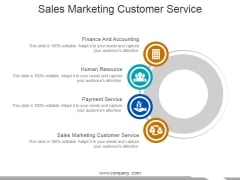 Sales Marketing Customer Service Ppt PowerPoint Presentation Slides Tips