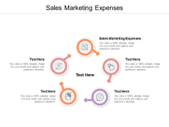Sales Marketing Expenses Ppt PowerPoint Presentation Styles Slide Cpb