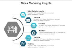 Sales Marketing Insights Ppt PowerPoint Presentation Pictures Templates Cpb