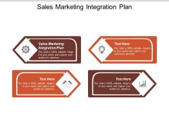 Sales Marketing Integration Plan Ppt PowerPoint Presentation Show Aids Cpb