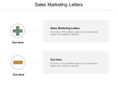 Sales Marketing Letters Ppt Powerpoint Presentation Icon Example Cpb