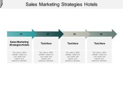 Sales Marketing Strategies Hotels Ppt PowerPoint Presentation Inspiration Microsoft Cpb