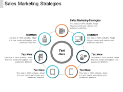 Sales Marketing Strategies Ppt PowerPoint Presentation Inspiration Elements Cpb