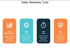 Sales Marketing Tools Ppt PowerPoint Presentation Styles Show Cpb