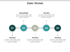 Sales Models Ppt PowerPoint Presentation Ideas Guide Cpb